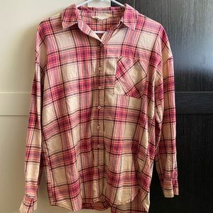 H81 Flannel Shirt size S